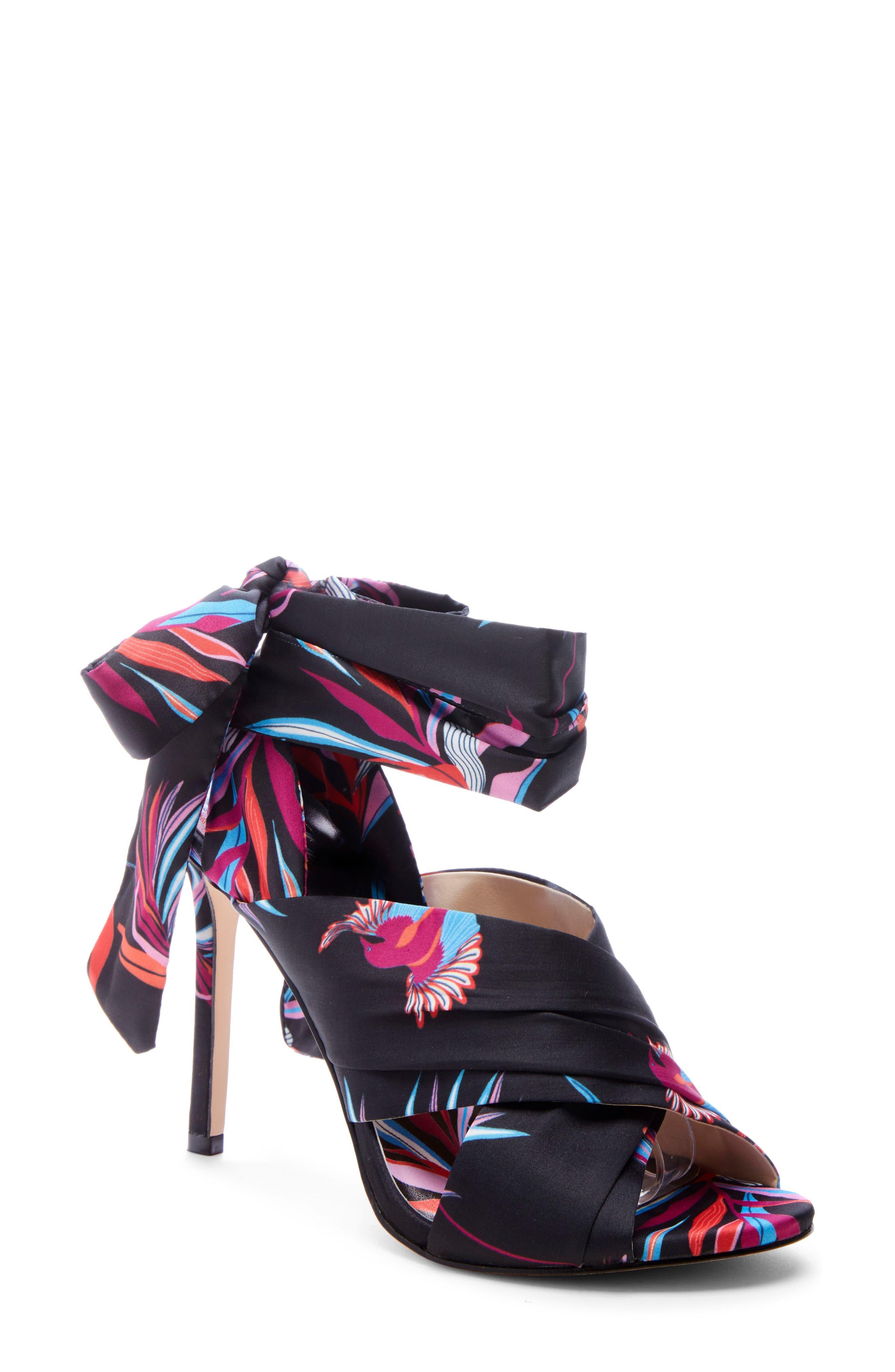 Stella Sandal, Main, color, BLACK MULTI
