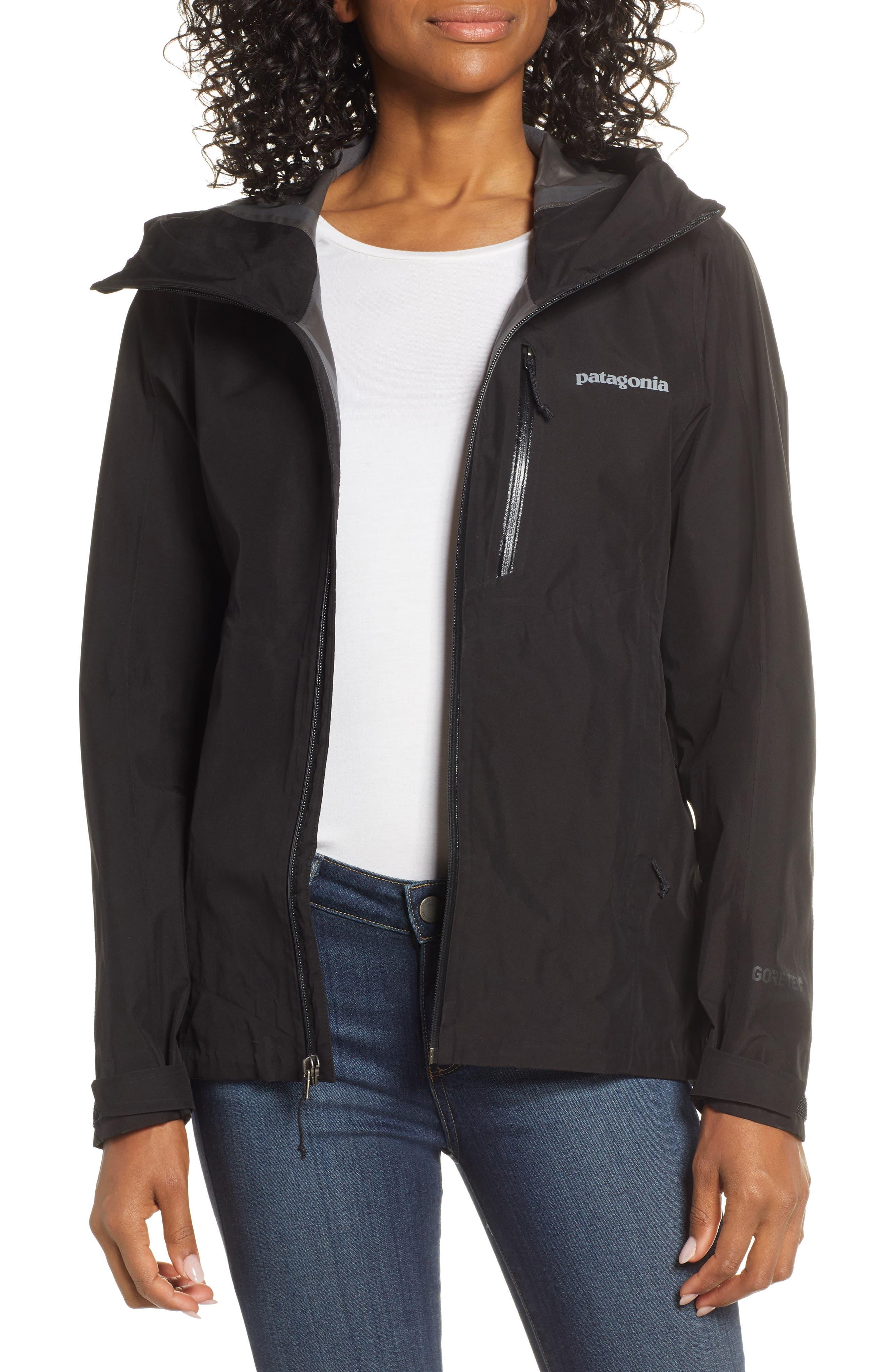 Patagonia Calcite Hooded Jacket, Black
