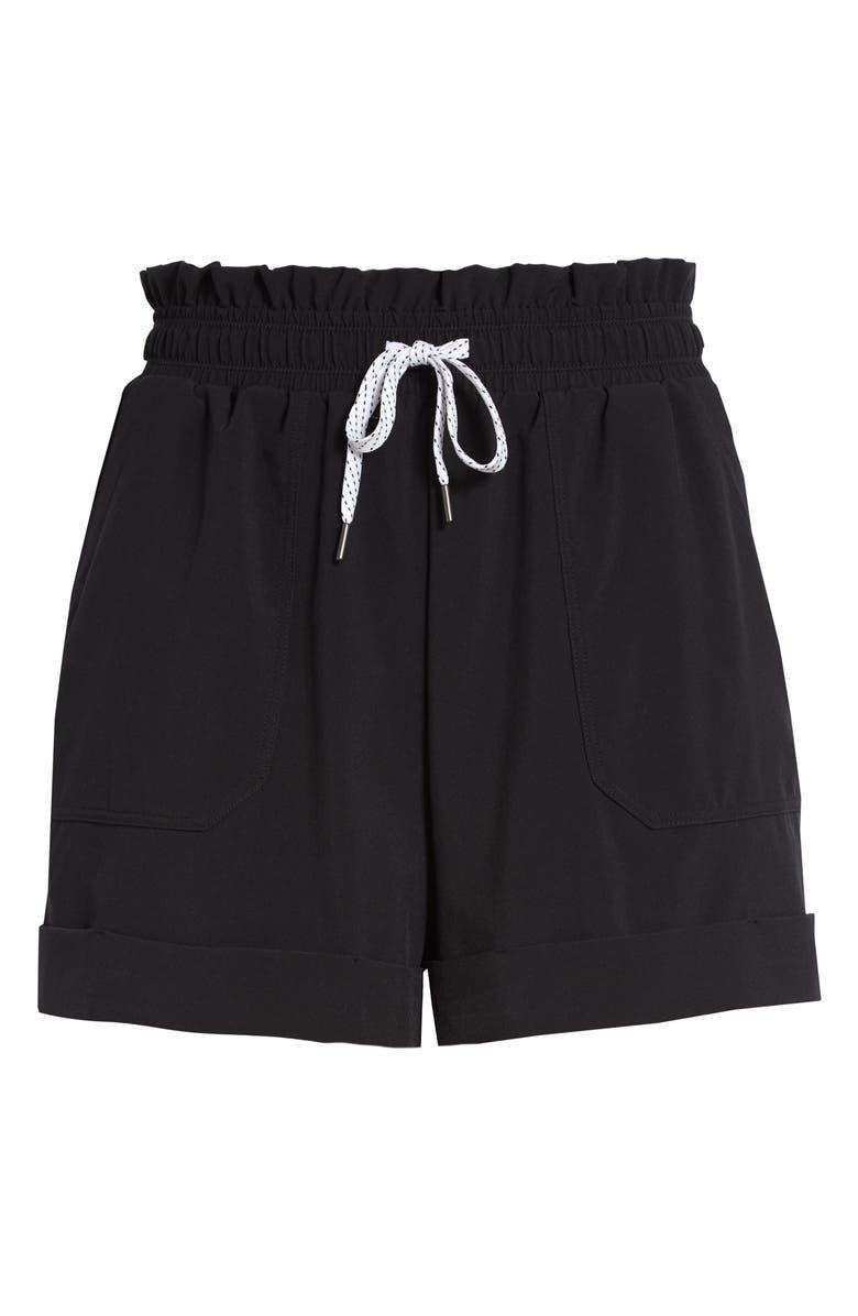 ZELLA Camp Shorts, Main, color, BLACK