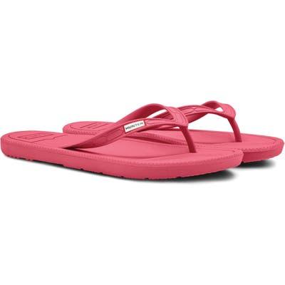 Hunter Original Flip Flop, Pink