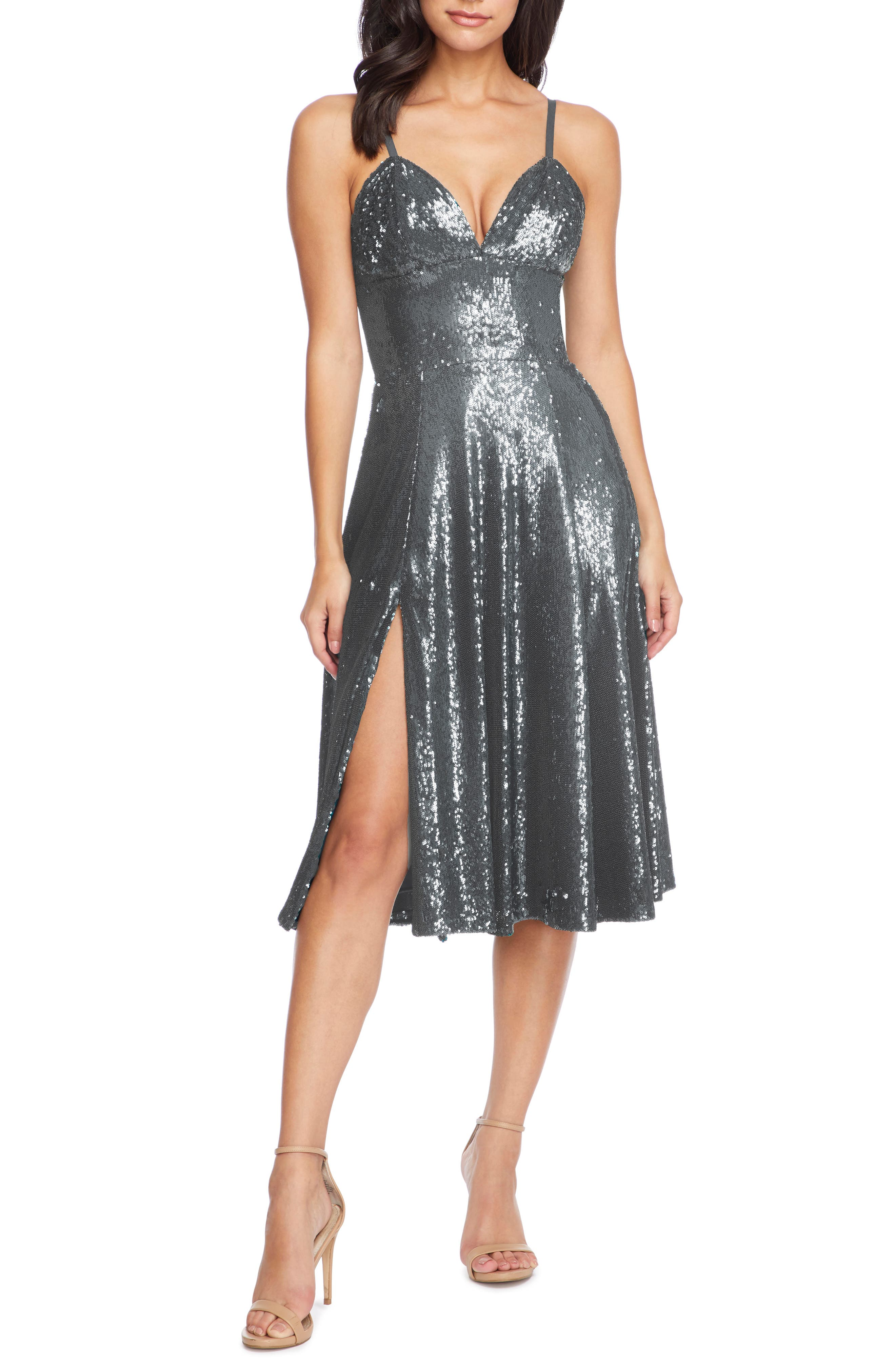 Image of Dress the Population Mimi Sequin Cocktail Dress