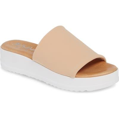 Matisse Paradise Slide Sandal, Beige