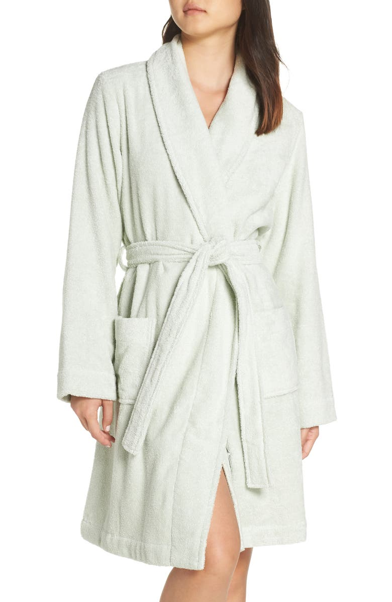 NORDSTROM LINGERIE Terry Robe, Main, color, 331