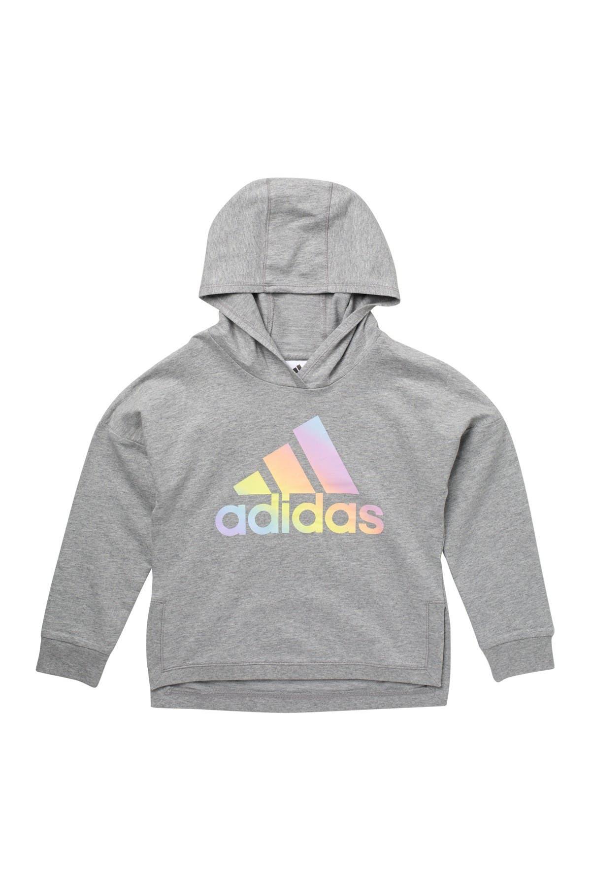 Image of ADIDAS ORIGINALS Long Sleeve Logo Hoodie