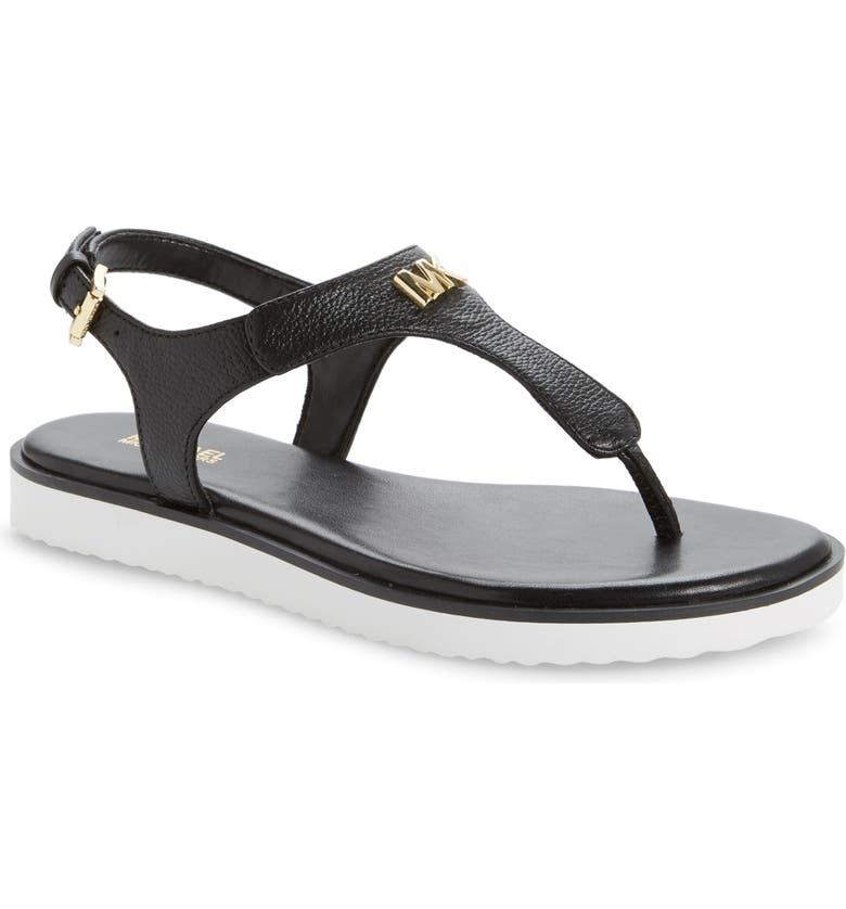 MICHAEL MICHAEL KORS Brady Sandal, Main, color, BLACK