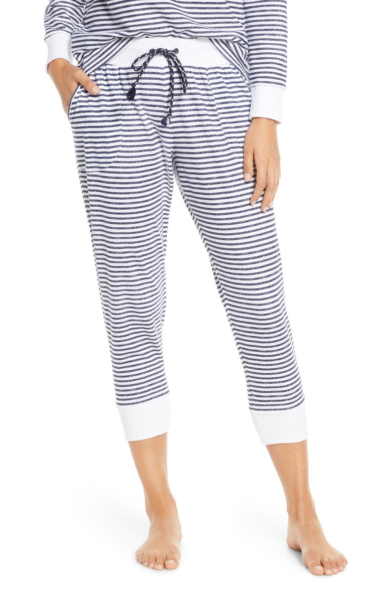 SPLENDID Lounge Crop Jogger Pants, Main, color, 400