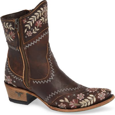 Lane Boots Landrun Gardens Western Boot- Brown