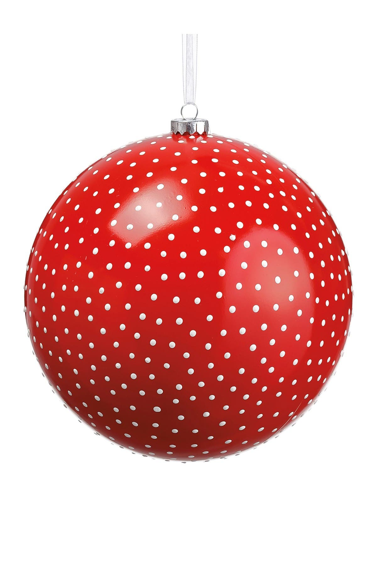 "Image of ALLSTATE 8"" Plastic Dots Ball Ornament"