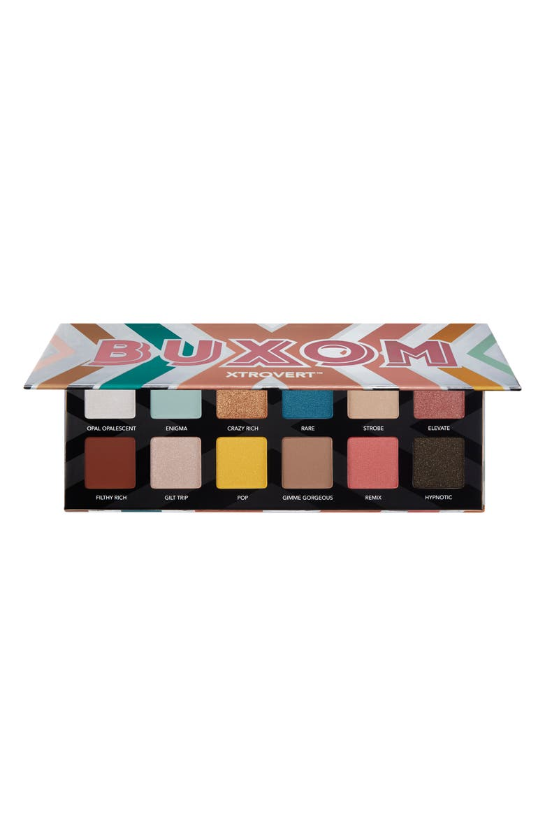 BUXOM XTROVERT Eyeshadow Palette, Main, color, No Color