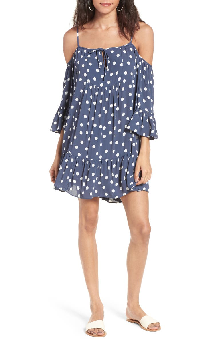 TULAROSA Hattie Shift Dress, Main, color, 400