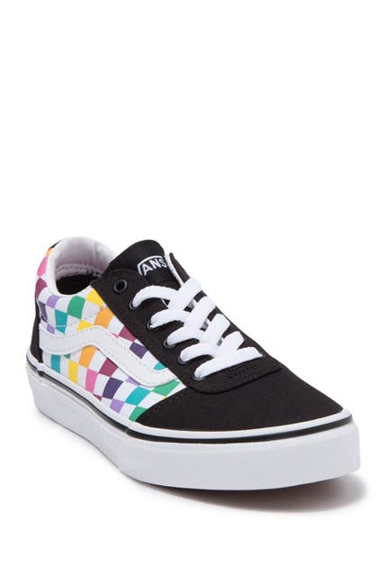 Image of VANS My Ward Party Check Sneakers