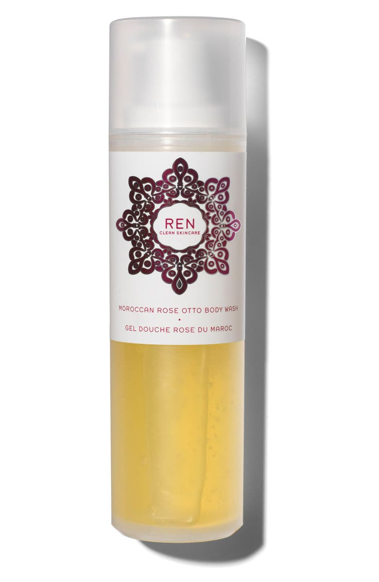 REN SPACE.NK.apothecary REN Moroccan Rose Otto Body Wash, Main, color, NO COLOR