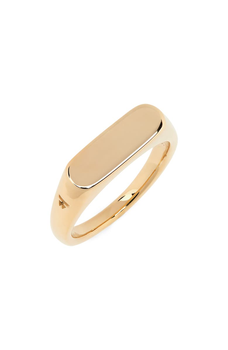TOM WOOD Knut Ring, Main, color, 9K GOLD