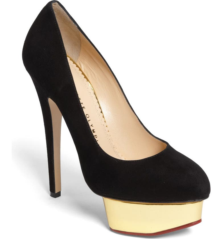 CHARLOTTE OLYMPIA 'Dolly' Platform Pump, Main, color, 001