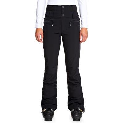 Roxy Rising High Snow Pants, Black