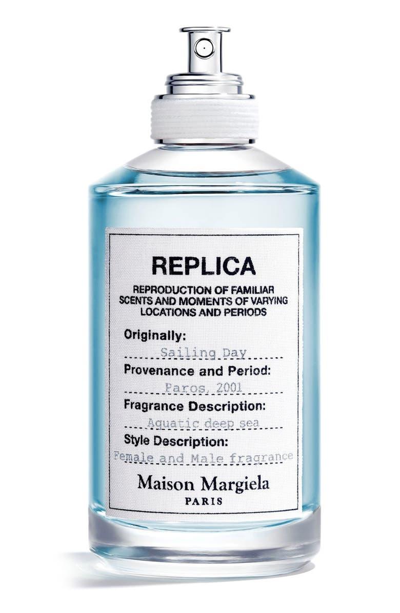 MAISON MARGIELA Replica Sailing Day Eau de Toilette Spray, Main, color, NO COLOR