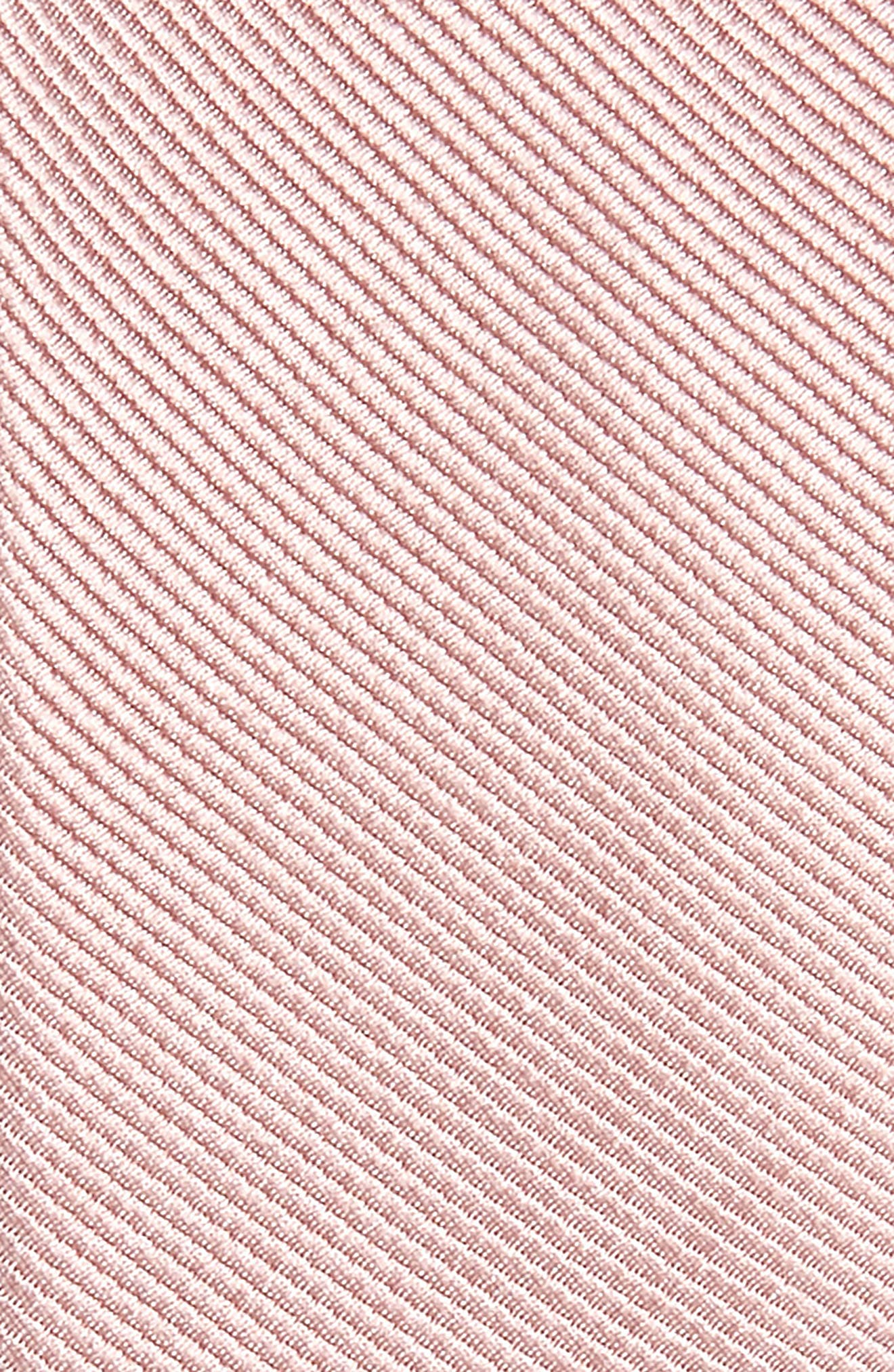 ,                             Solid Silk Tie,                             Alternate thumbnail 2, color,                             MAUVE STONE