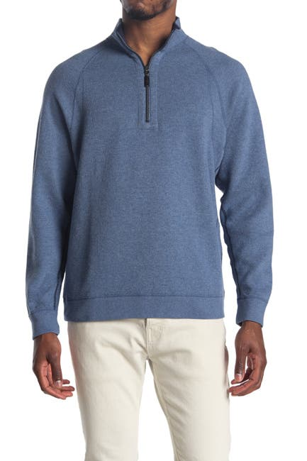 Image of Tommy Bahama Flipster Reversible Half Zip Pullover