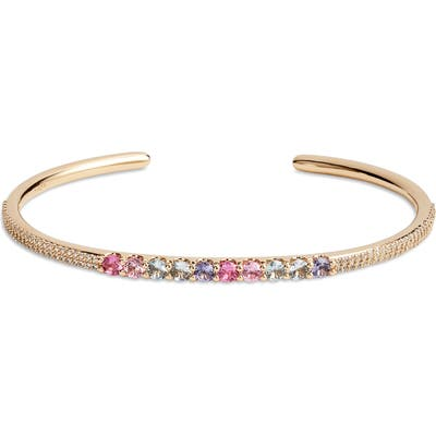 Nadri Bloom Open Cuff Bracelet