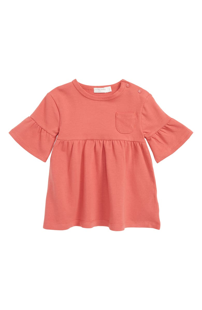MILES BABY Pocket Knit Dress, Main, color, 600