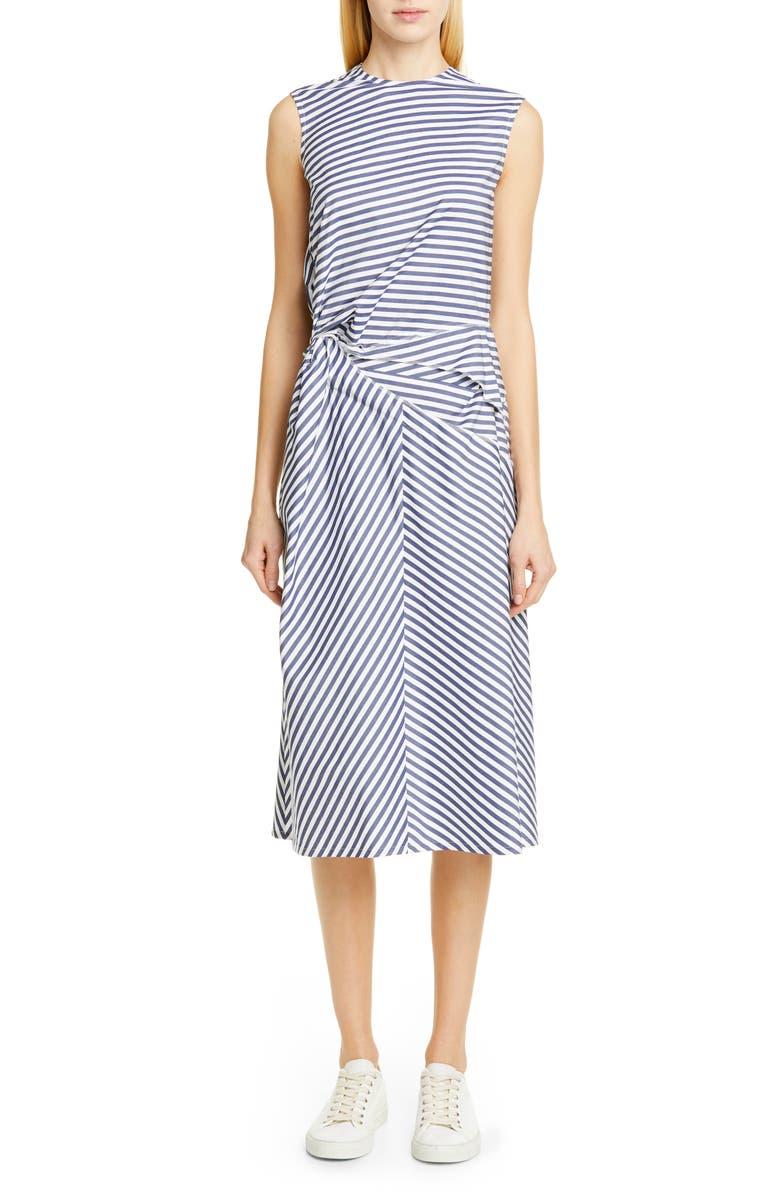 TRICOT COMME DES GARÇONS Multistripe Sleeveless Dress, Main, color, 400