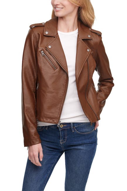 Image of Levi's Faux Leather Moto Jacket