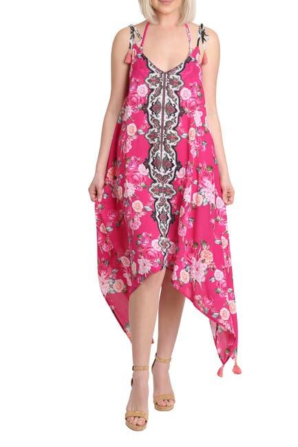 Image of Nanette Lepore Haven Handkerchief Hem Dress