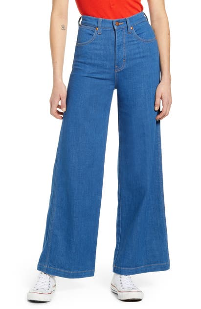 Wrangler HIGH WAIST WIDE LEG JEANS