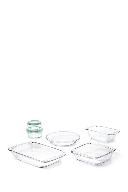 Image of Oxo Good Grips 8-Piece Glass Bake, Serve, & Store Set