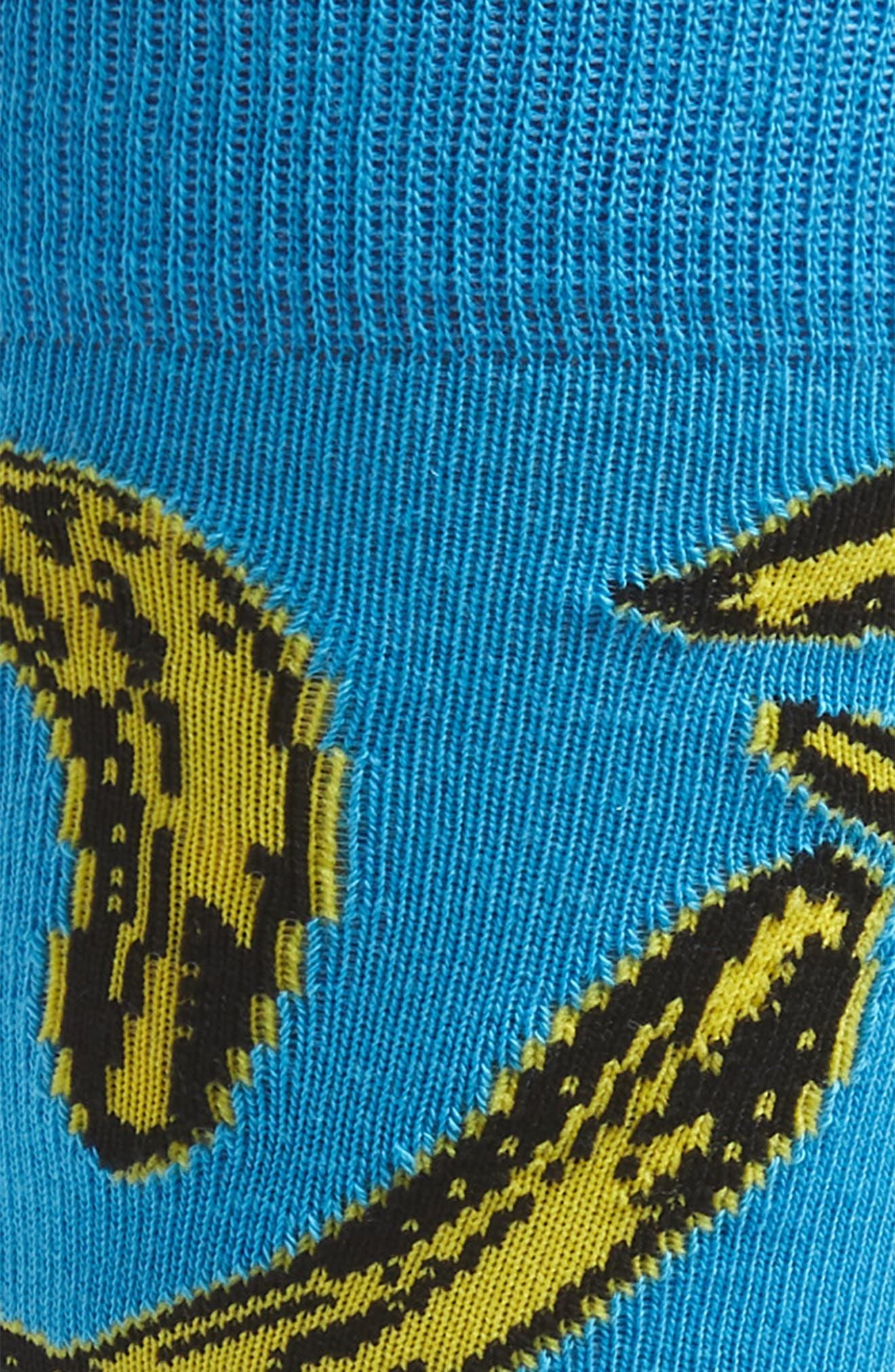 ,                             Andy Warhol Banana Socks,                             Alternate thumbnail 2, color,                             421