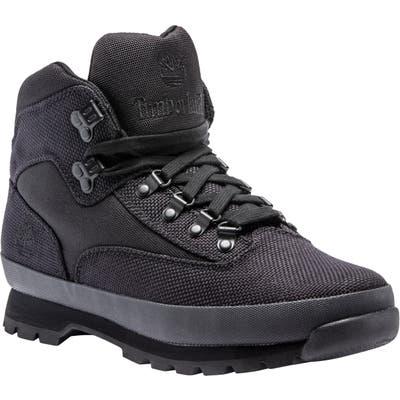 Timberland Euro Hiker Boot- Black