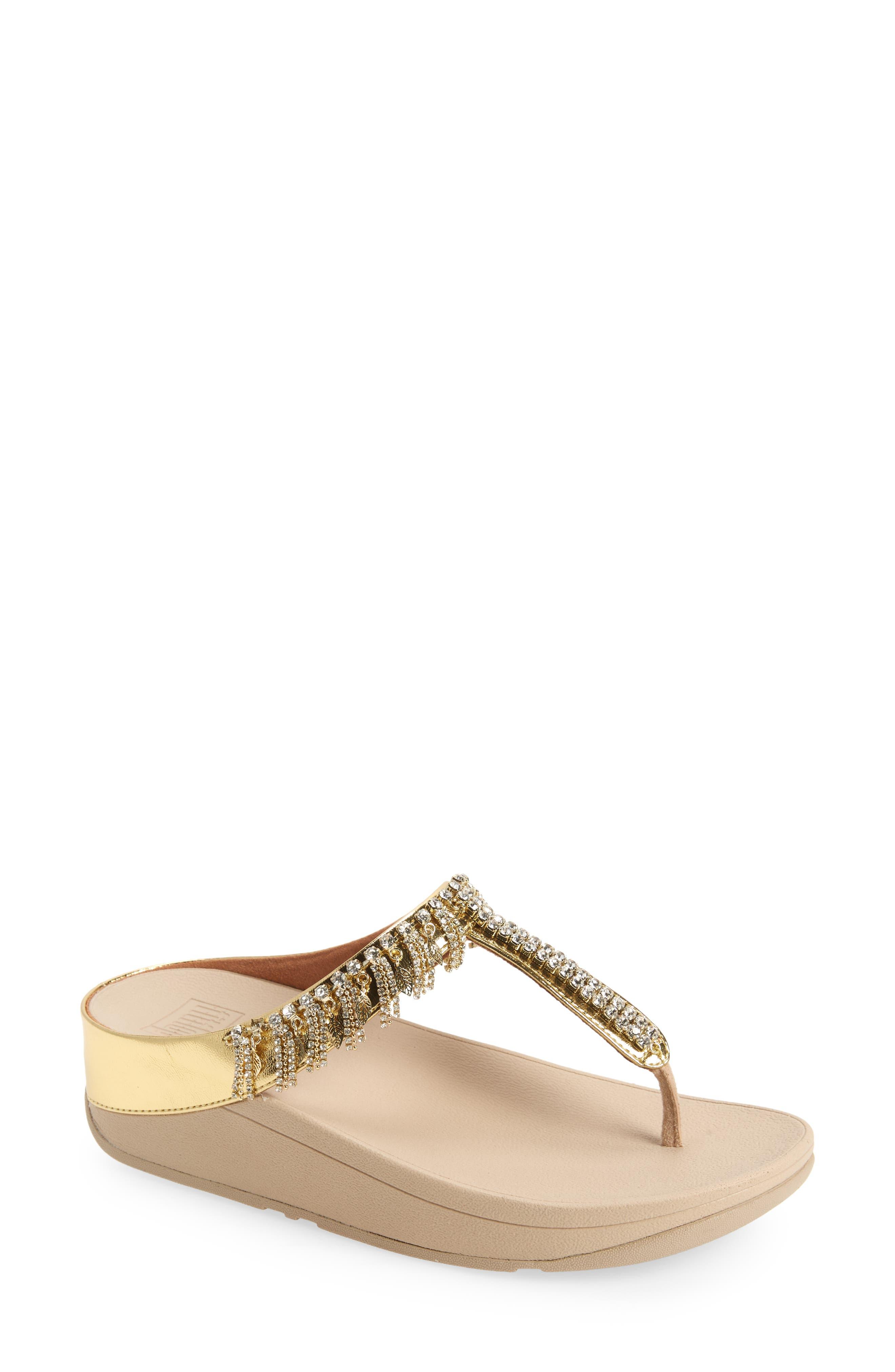 Fino Embellished Flip Flop