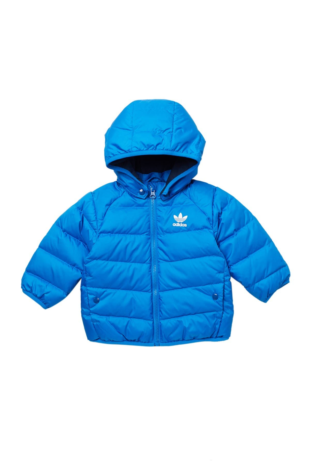 Image of ADIDAS ORIGINALS Hooded Insulated Puffer Jacket