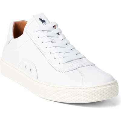 Polo Ralph Lauren Court 100 Lux Sneaker - Black