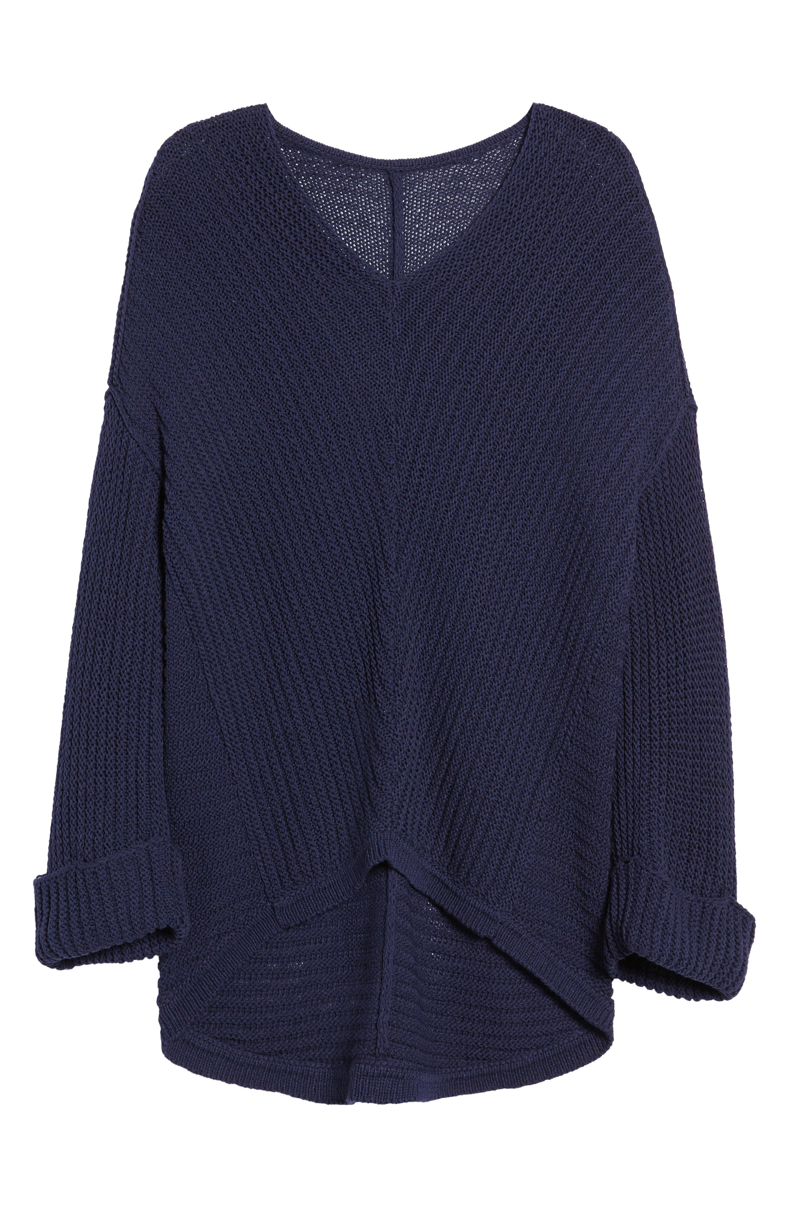 ,                             Cuffed Sleeve Sweater,                             Alternate thumbnail 18, color,                             410
