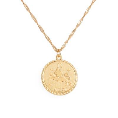 Cam Jewelry Ascending Zodiac Medallion Necklace