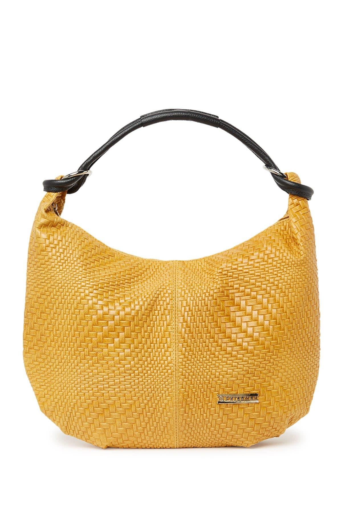 Image of Persaman New York Alessandra Weave Shoulder Bag