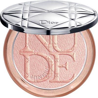 Dior Diorskin Nude Luminizer Shimmering Glow Powder - 02 Pink Glow