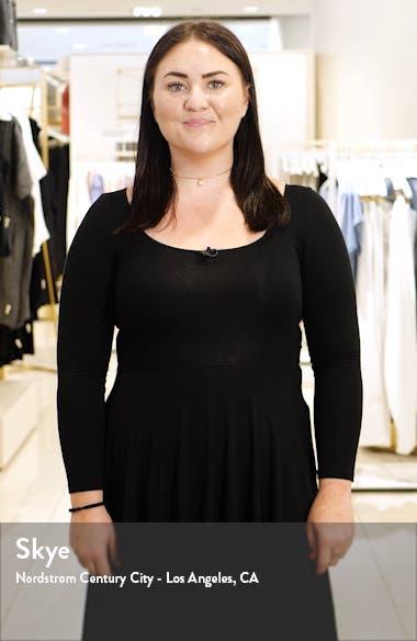 Amaryn Ditsy Floral Long Sleeve Minidress, sales video thumbnail