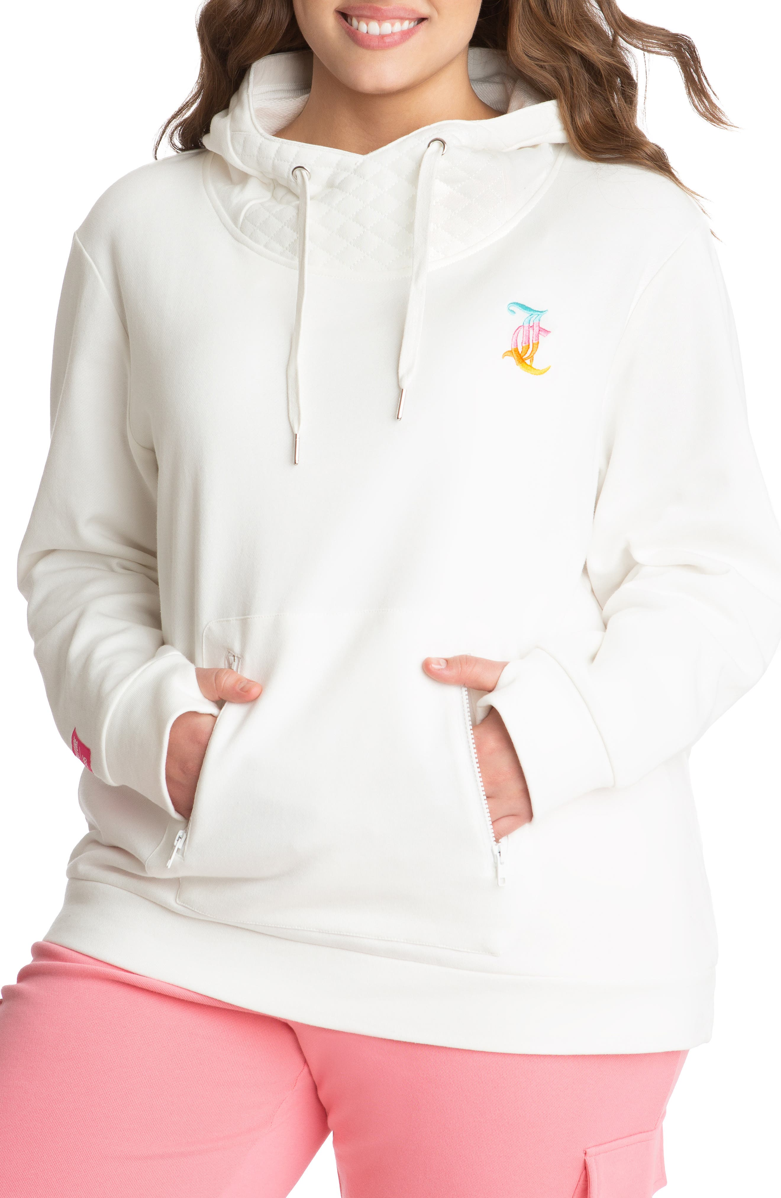 French Terry Hoodie With Face Mask