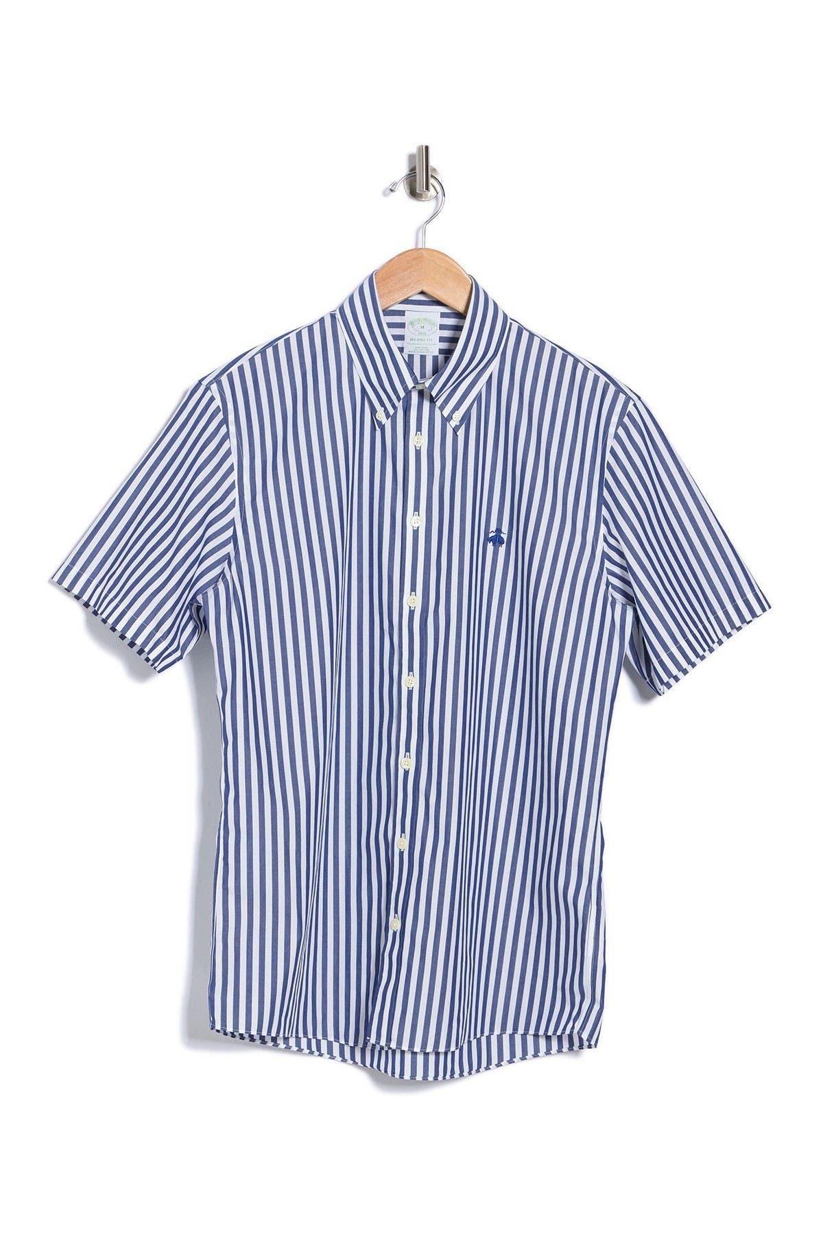 Brooks Brothers Stripe Milano Fit Sport Shirt