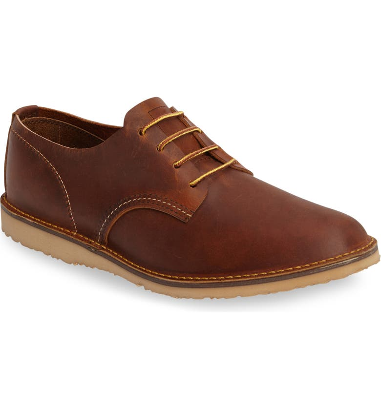RED WING Oxford, Main, color, COPPER ROUGH AND TOUGH