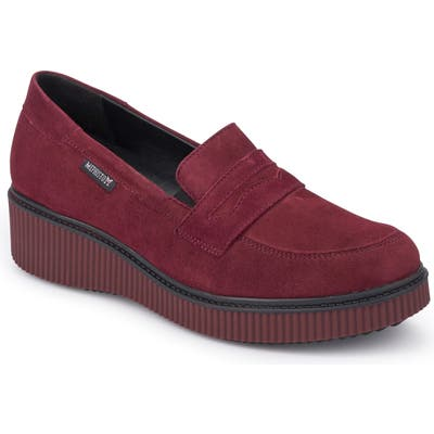 Mephisto Ermia Loafer- Red