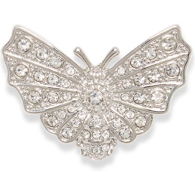 Vince Camuto Pave Butterfly Pin