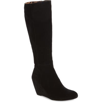 Seychelles Star Of The Show Wedge Knee High Boot, Black