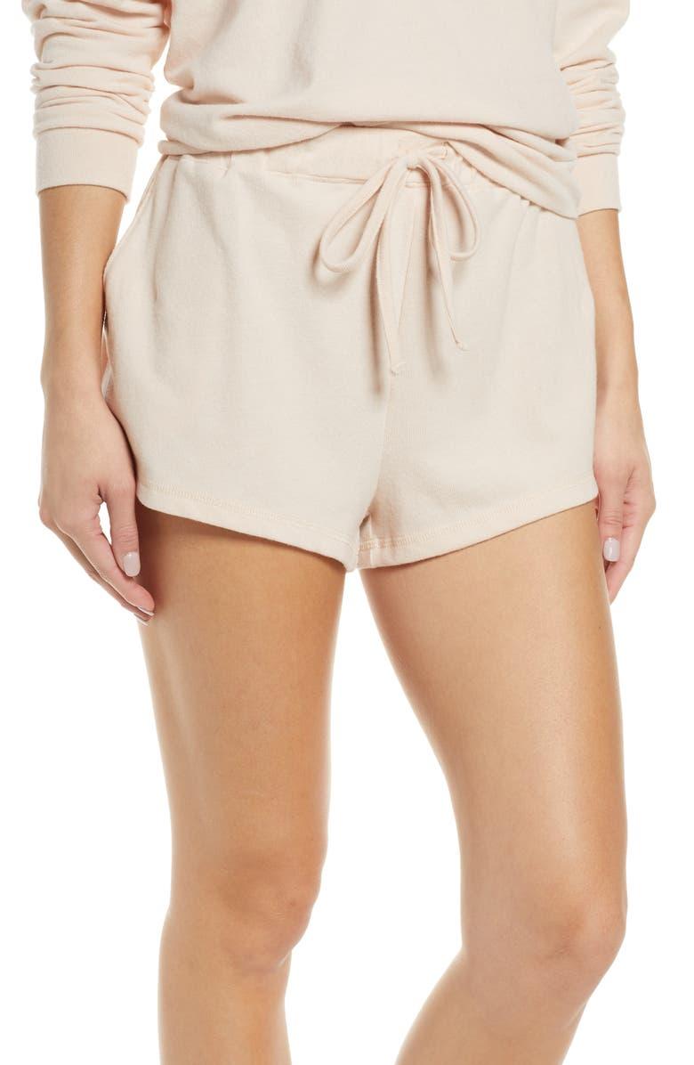 EBERJEY Gianne Sport Shorts, Main, color, SHELL
