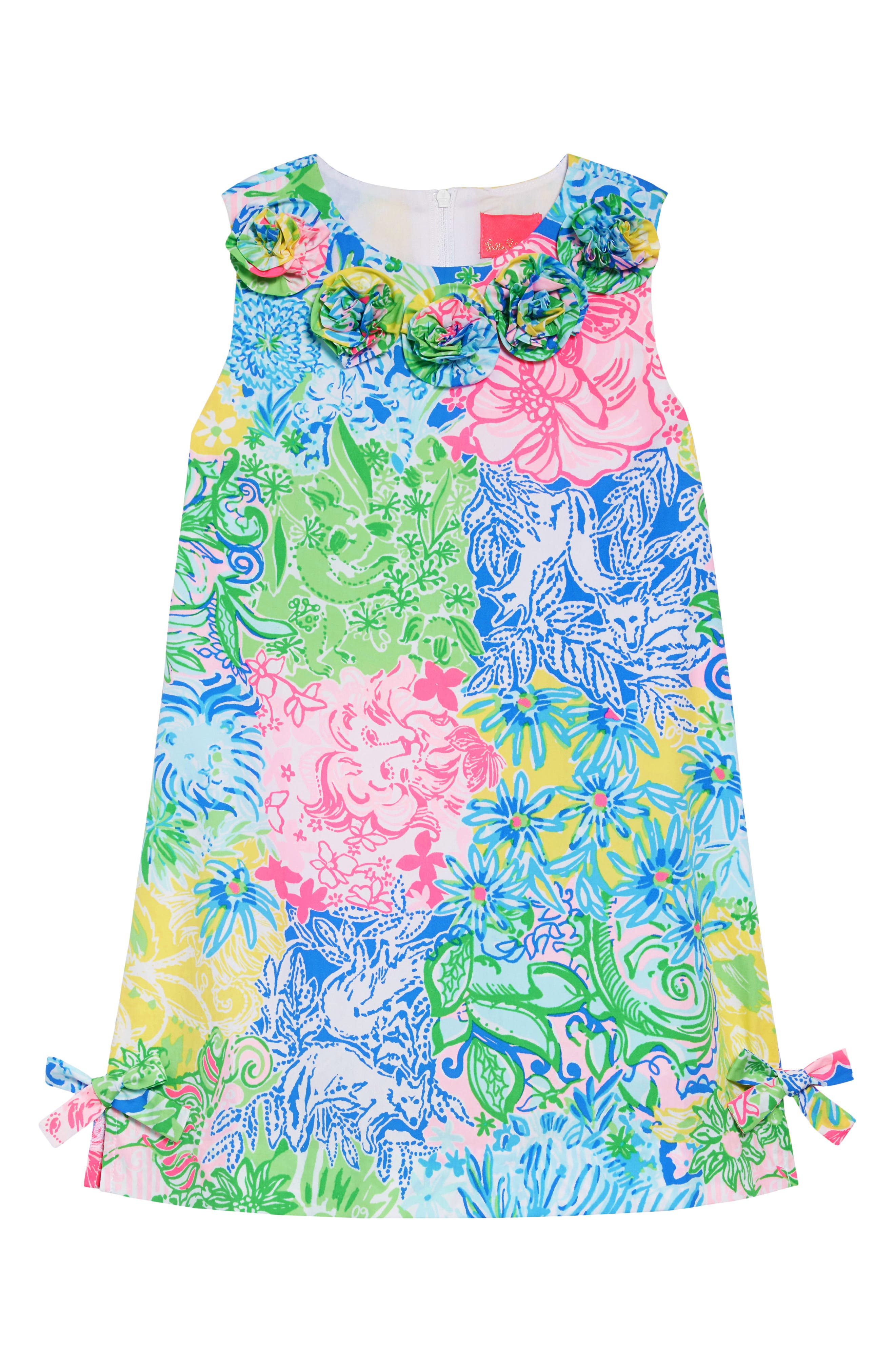 fe15b4e55 Girl's Lilly Pulitzer Little Lily Shift Dress, Blue