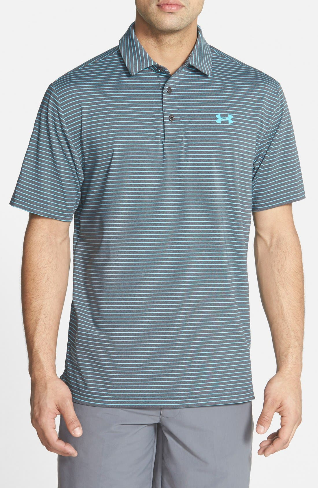 ,                             'Playoff' Loose Fit Short Sleeve Polo,                             Main thumbnail 133, color,                             092
