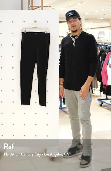 Tereza Velvet Side Stripe Slim Pants, sales video thumbnail