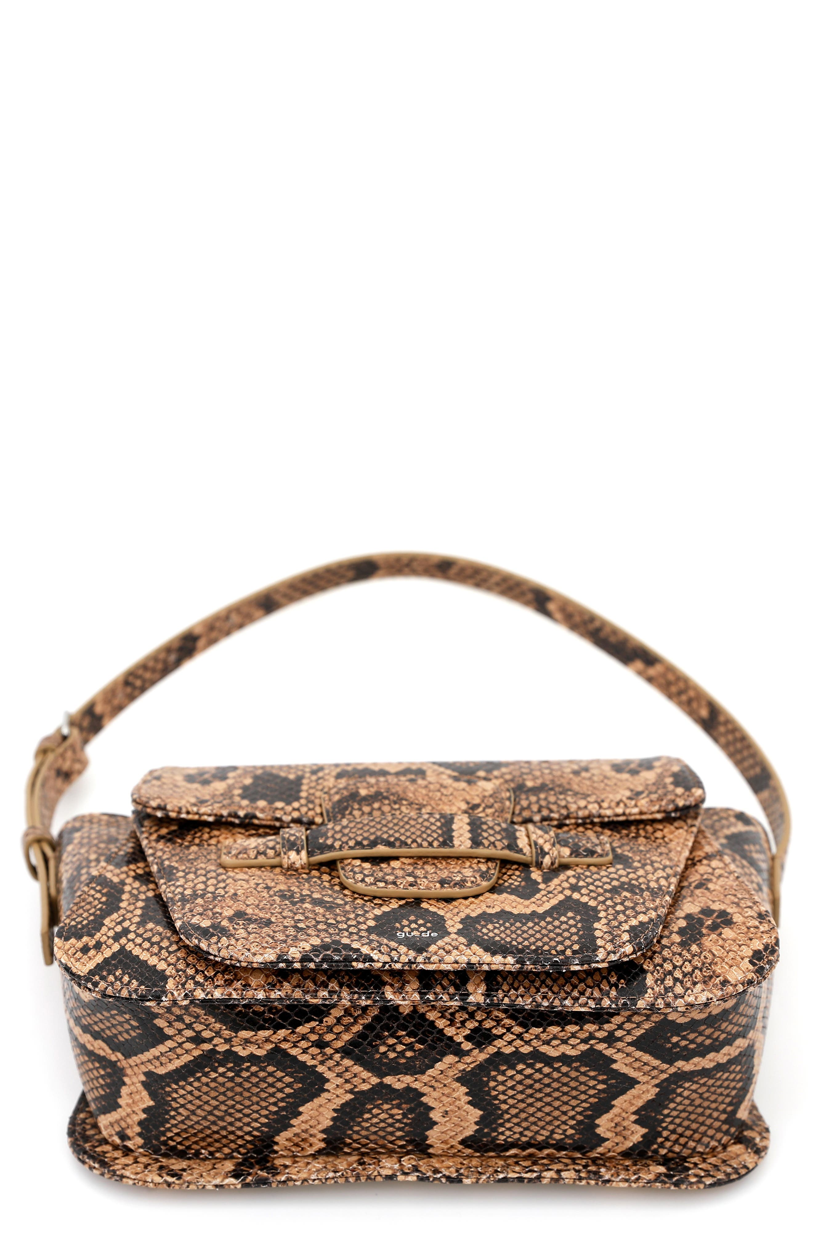 Gu-De Hardi Leather Shoulder Bag